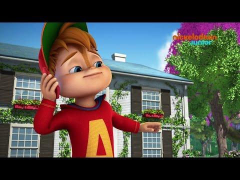 Alvinnn!!! et les Chipmunks | Alvin et le portable | NICKELODEON JUNIOR