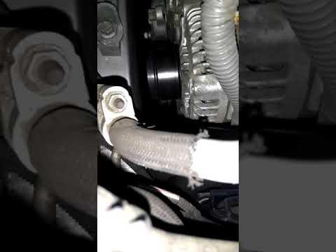 Toyota Rav4 2009 Whining Whirring Noise - alternator