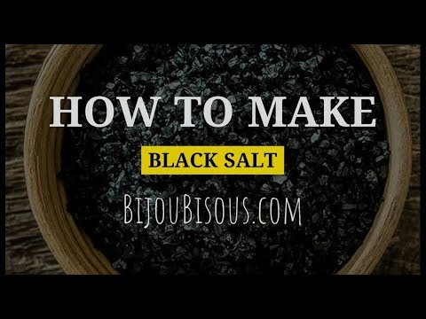 Witch Tips: How To Make Black Salt