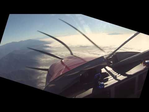 HD RV-10 Flight from Van Nuys to Big Bear (KVNY-L35)