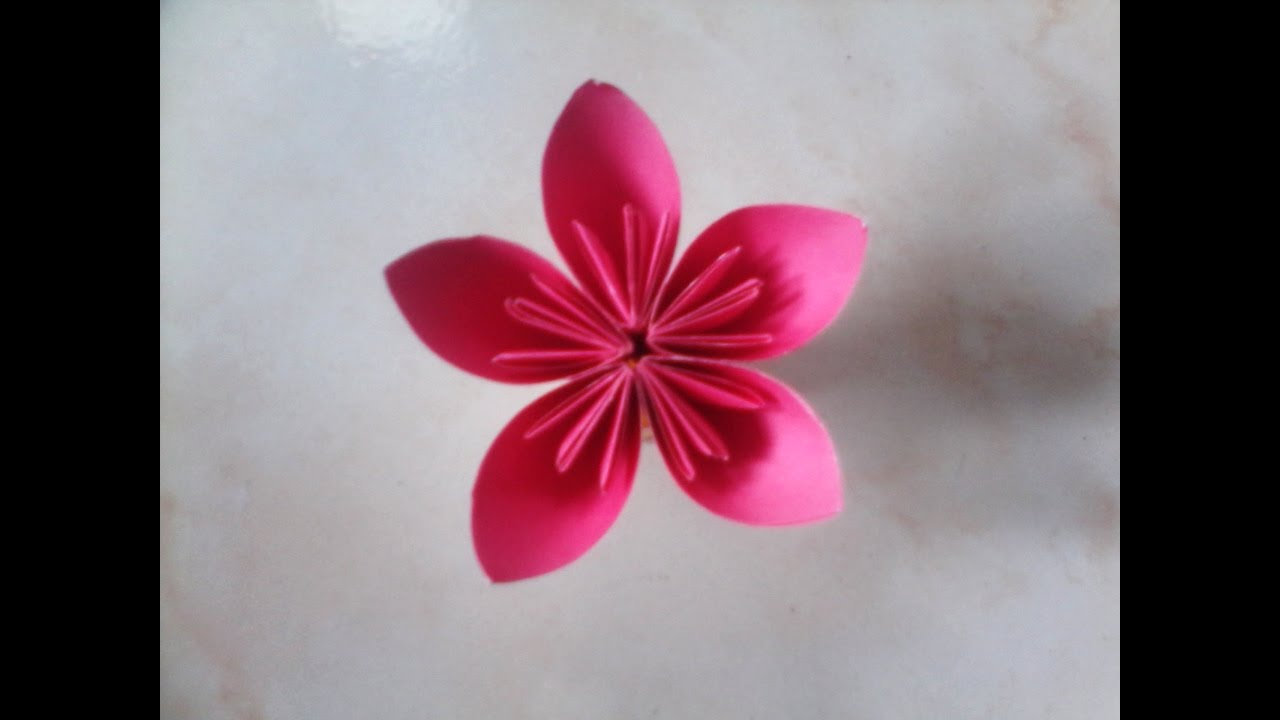 Easy origami kusudama flower step by step flower paper youtube easy origami kusudama flower step by step flower paper mightylinksfo