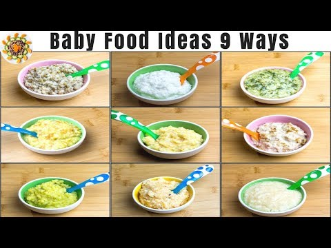 Lunch Ideas for Babies   Baby Food Recipes for 10+ Months   Baby Food Ideas   Weight Gain Baby Food