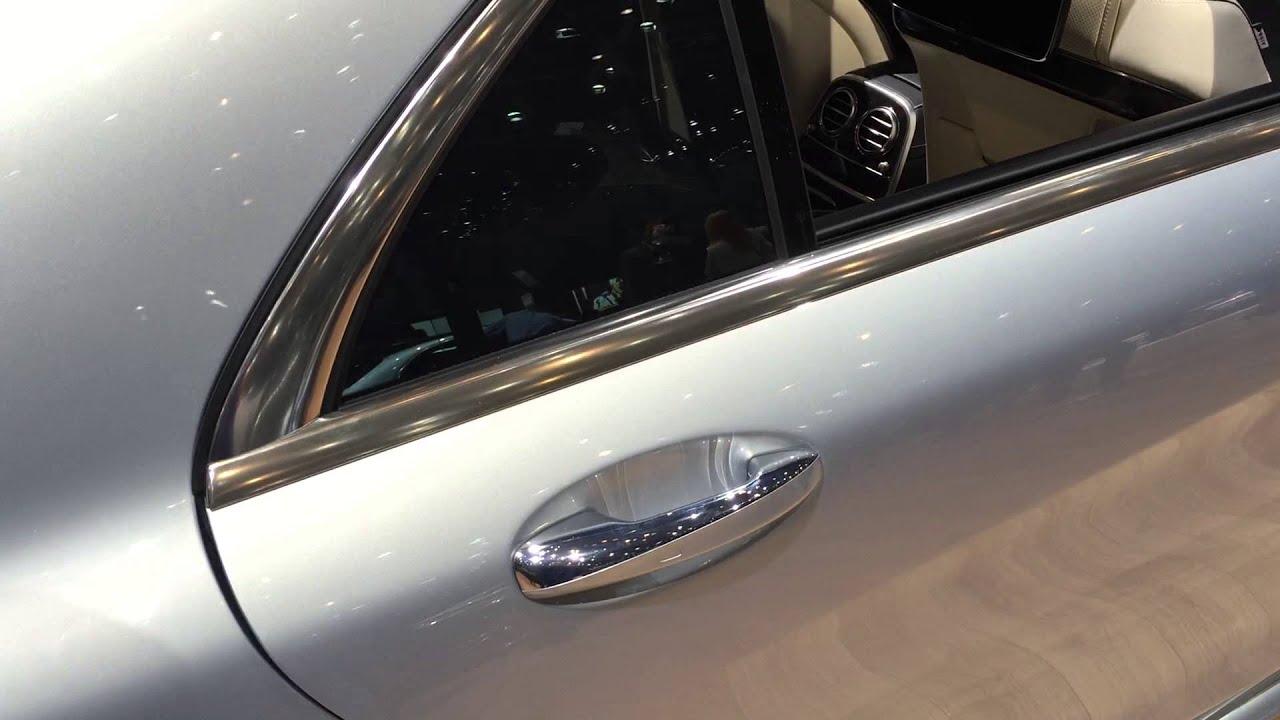 Mercedes Benz S class W222 soft close doors & Mercedes Benz S class W222 soft close doors - YouTube