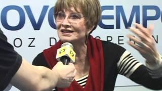 Neta de Glória Menezes lança disco Gospel - Entrevista Rádio Novo Tempo