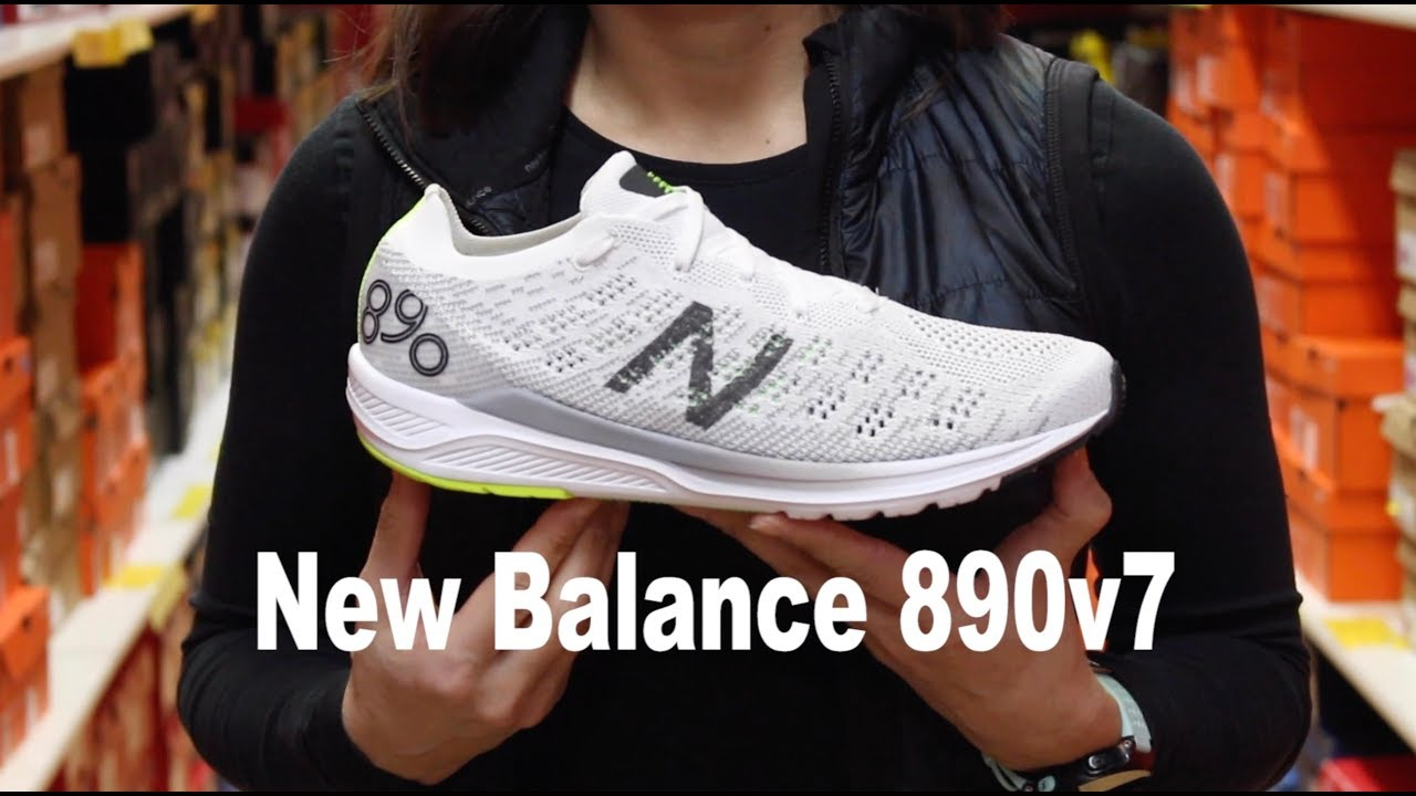 New Balance 890 v7 Shoe Review