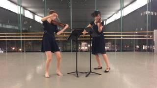 Prokofiev Sonata for 2 Violins, Op. 56 II. Allegro