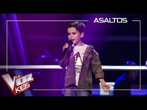Daniel García Canta 'El Patio' | Asaltos | La Voz Kids Antena 3 2019