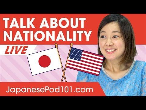 How to Talk about Nationalities in Japanese? - Basic Japanese Phrases