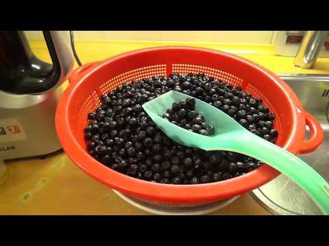 Как приготовить сок из черноплодной рябины