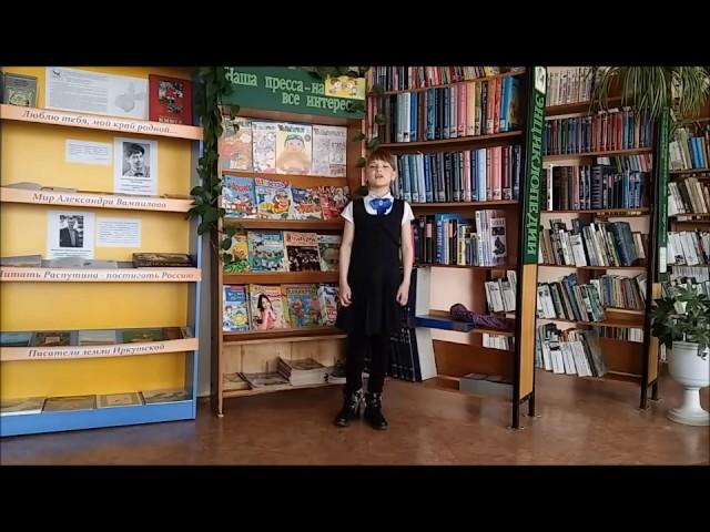 Изображение предпросмотра прочтения – АлинаСоловьёва читает произведение «Баллада о Матери» А.Д.Дементьевa