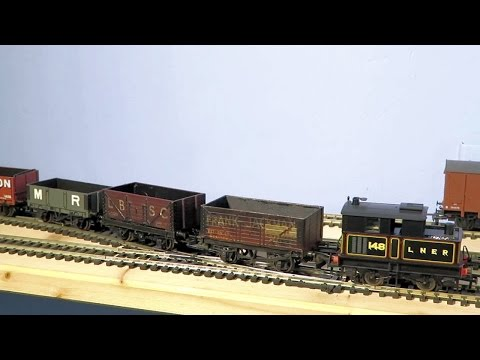 Sunday wagon works (OO gauge maintenance)
