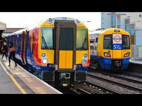 London's Railways - British Trains  ロンドンの鉄道