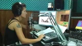 Monica Nogueira na Regional FM 98,7 mHz Descalvado-SP