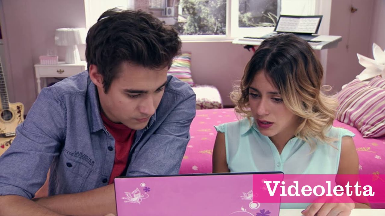 Download Violetta 3 English: Vilu and Leon find out who pushed her down the stairs Ep.68