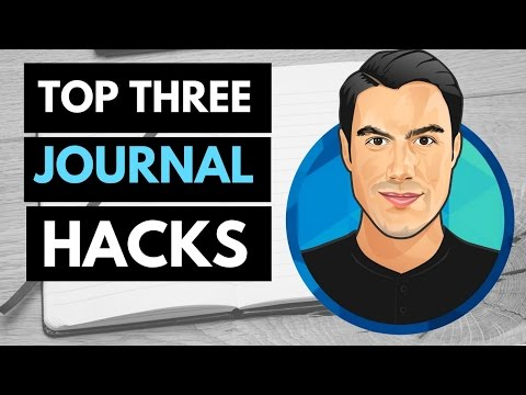 Top 3 Journal HACKS (for Journaling Success)