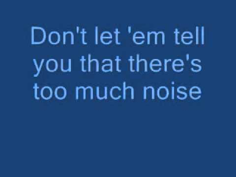 Kiss- Shout It Out Loud (Lyrics on screen)
