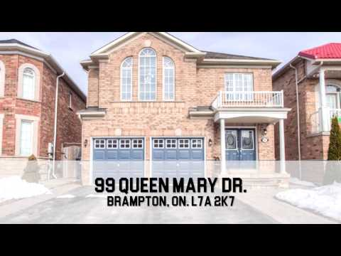 99 Queen Mary Dr. Brampton, On. L7A 2K7 / HD / Virtual Tour