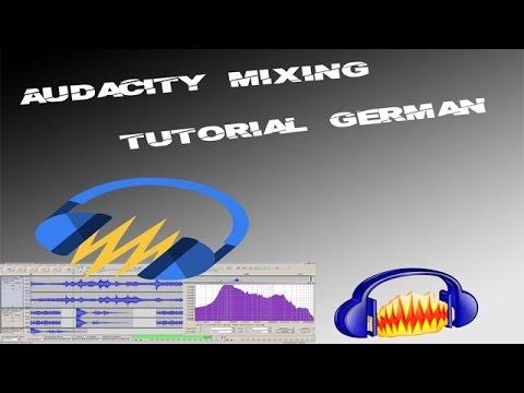 Audacity Mixing Tutorial German - Rap Vocals