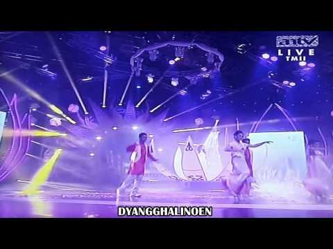 Ayu ting ting feat Rija abbas   Mahacinta show Ant