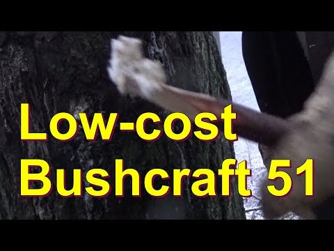 Low-cost Bushcraft Serie Teil 51
