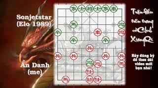 Mời các bạn giải trí với ván cờ giao lưu với nick Sonjetstar Elo 1989 trên Club XiangQi.com