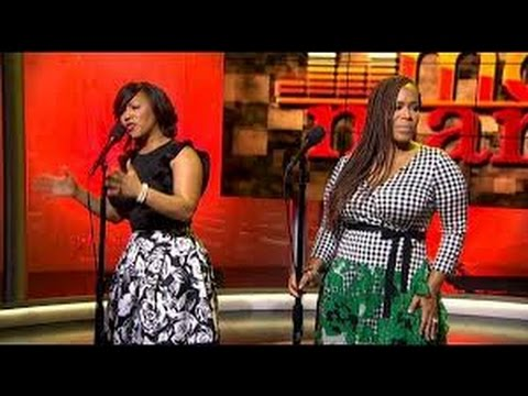 Erica Campbell and Tina Campbell of Mary...