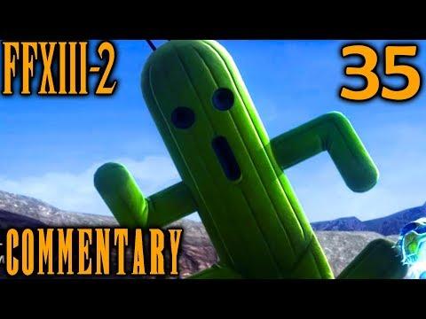 Final Fantasy XIII-2 Walkthrough Part 35 - Cactuar Stones & Gigantuars (Archlyte Steppe ??? AF)