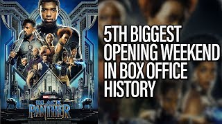 Black Panther Has 5th Biggest Opening Weekend In Film History