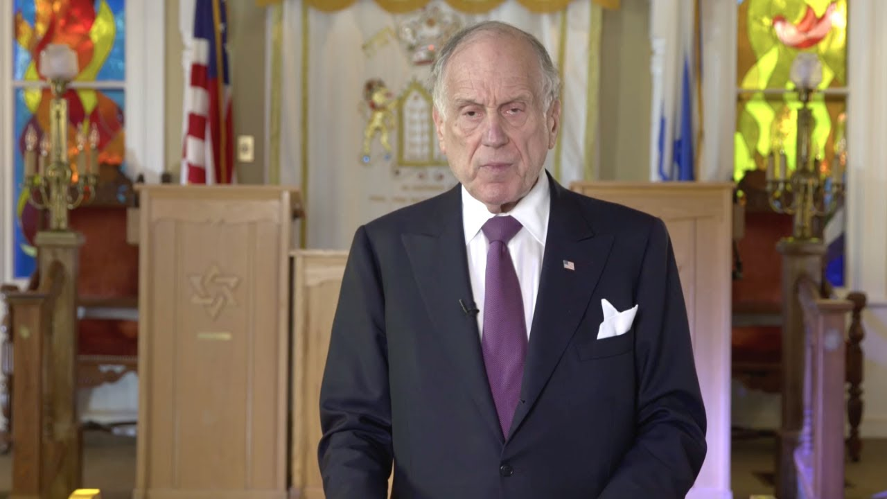 WJC Chairman Ronald Lauder on Antisemitism, Jewish Education, Israel and the Jewish division