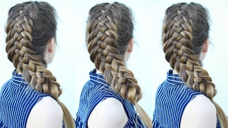 Dutch Woven Fishtail Braid | Braided Hairstyle Ideas | Braidsandstyles12