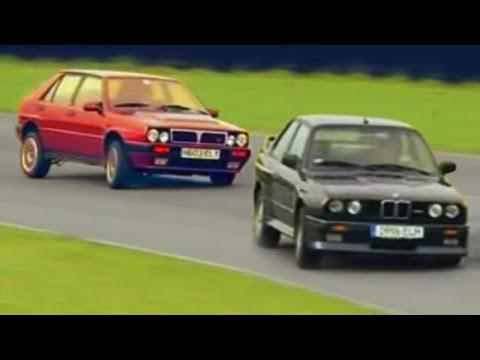 Lancia Delta Integrale v BMW M3 E30 - Fifth Gear