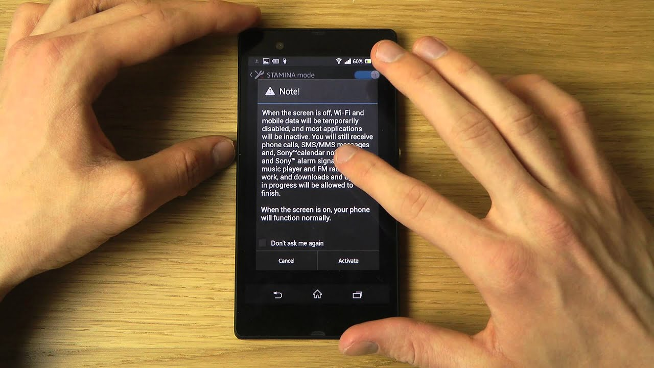 Sony Xperia Z Tips & Tricks Episode 5: How To Save Battery With Stamina &