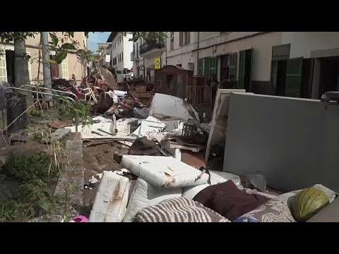 Habitantes de Maiorca culpam infraestruturas pelas cheias mortíferas