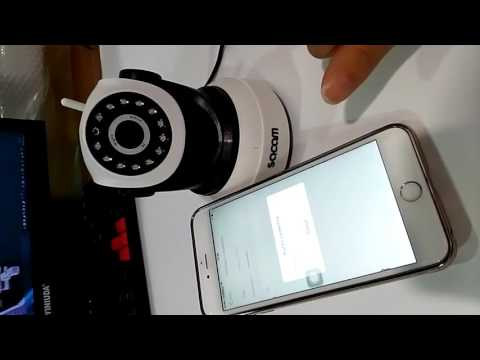 Video Manual or Instruction for Sacam Wireless IP Camera with app  CamHi