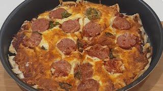 TRENDING Quick and Easy Slice Bread Pizza Hack | TikTok