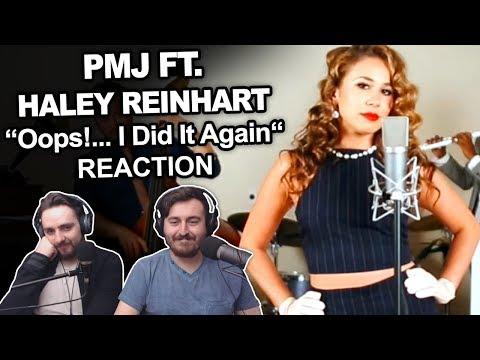'Postmodern Jukebox ft. Haley Reinhart - Oops!... I Did It Again' Singers Reaction
