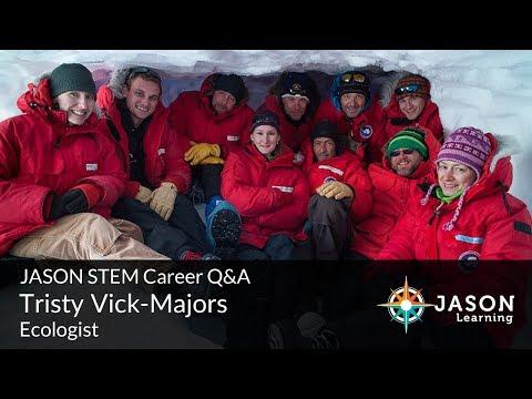 Tristy Vick-Majors, Microbial Ecologist: JASON STEM Role Model Q&A