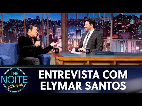 Entrevista com Elymar Santos   The Noite 210519