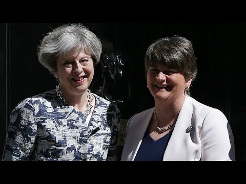 Brexit: Northern Ireland's DUP sign deal to back UK Conservative government