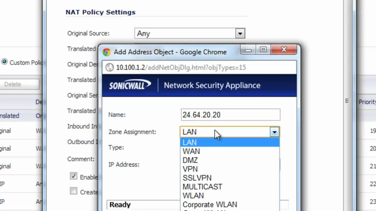Reroute an IP address to another