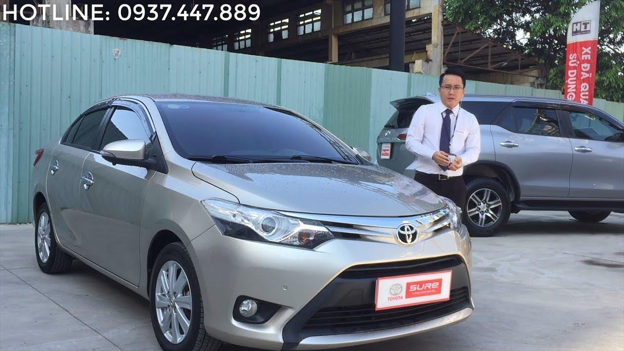 Bán xe Toyota Vios 2016 cũ 1.5G số tự động, xe đẹp giá tốt -ĐÃ BÁN