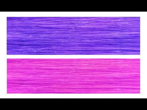 How To Make!! - Crepe Paper Sheets Own | Crepe Paper Making Tutorial | DIY Paper Craft Ideas