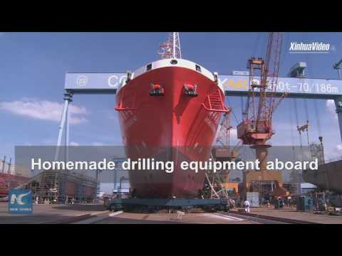 China Unveils Homemade Ocean Research Vessel