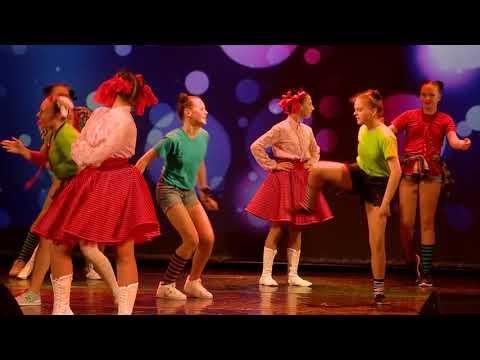 Отчетный концерт детской хореографической студии «ЮЛА» 19 мая 2018г. Номер «Хулиганы»