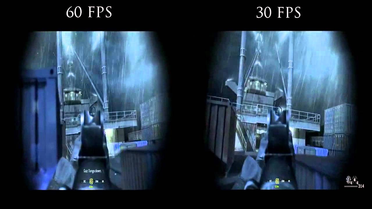 Youtube 30 fps vs 60 webcam