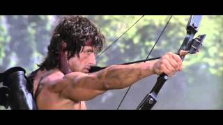 """Rambo, First Blood: Part II"" - The Explosive Arrow Scene"