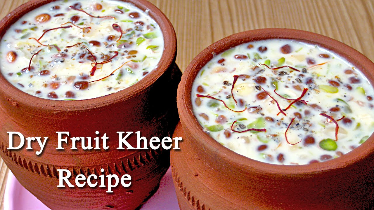 Kheer recipe from indian cuisine dry fruits kheer recipe for vrat kheer recipe from indian cuisine dry fruits kheer recipe for vrat and festivals youtube forumfinder Image collections