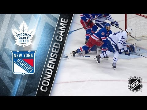 Toronto Maple Leafs vs New York Rangers - Dec.23, 2017 | Game Highlights | NHL 2017/18. Обзор матча