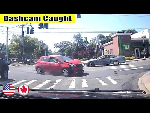 Ultimate North American Cars Driving Fails Compilation - 245 [Dash Cam Caught Video]
