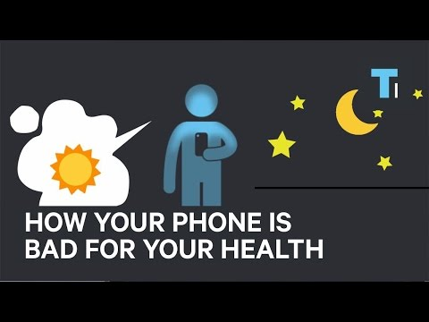 How your phone is bad for your health
